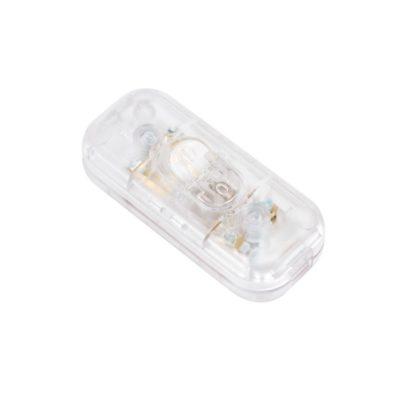 Vypínač na svietidlá – transparentný
