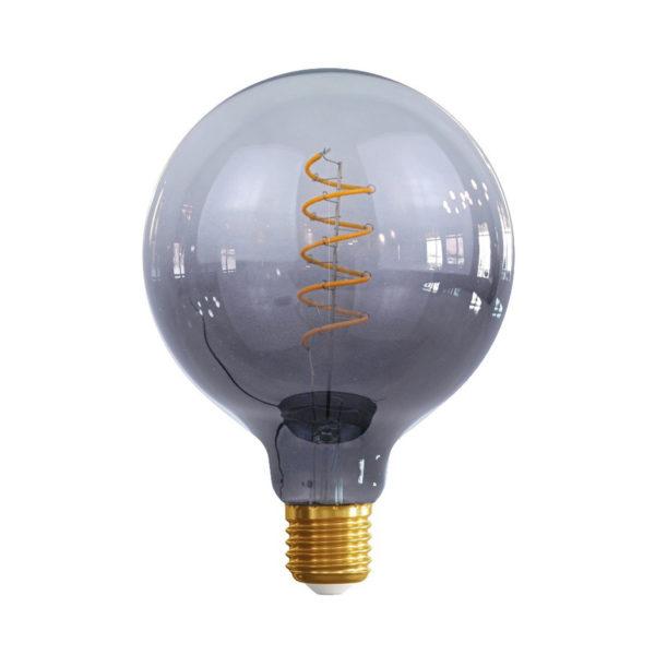 Edison Soft žiarovka BLACK-TRANSPARENT SPHERE – E27, 4W, 150lm, Stmievateľná