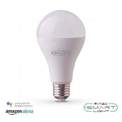 SMART Žiarovka RGB 20W, 1350Lm, E27, kompatibilná s AMAZON ALEXA + GOOGLE HOME