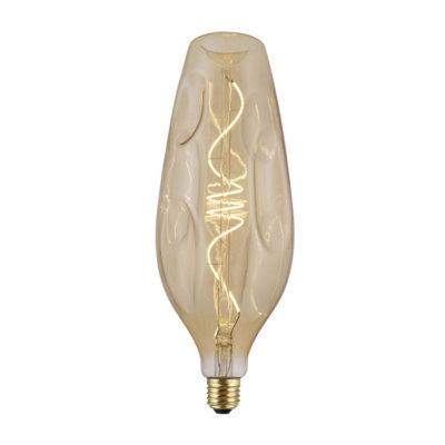 Vintage Filament žiarovka BOTTLE, zlatá - 5W, E27, 250lm, Stmievateľná, Teplá biela