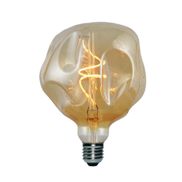 Vintage Filament žiarovka LUXURY SPHERE, zlatá - 5W, E27, 250lm, Stmievateľná, Teplá biela