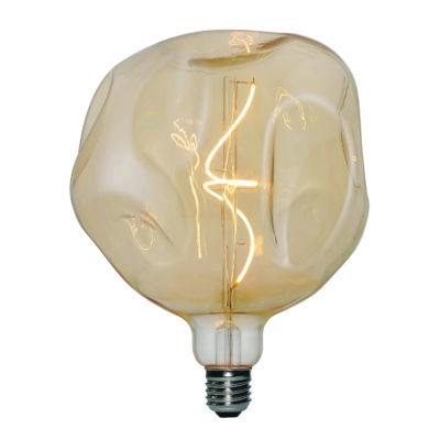 Vintage Filament žiarovka LUXURY, zlatá – 5W, E27, 250lm, Stmievateľná, Teplá biela | Daylight Italia