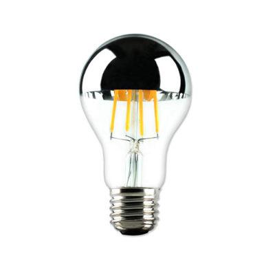 Zrkadlová dekoračná žiarovka 4W, E27, 400lm, CLASSIC, Strieborná
