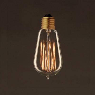 EDISON žiarovka - LANTERN - E27, 25W, 60lm