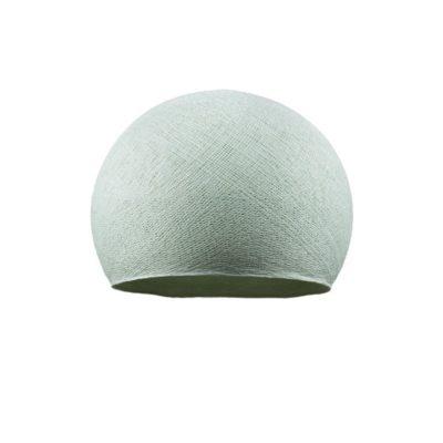 Ručne vyrobené tienidlo z polyesterového vlákna, 25cm, azúrová farba