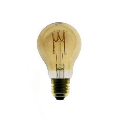 Edison Soft žiarovka, Jantárová LED žiarovka - GOCCIA - 3W, E27, Stmievateľná, 2000K