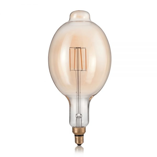 XXL žiarovka, VINTAGE XL, E27, 4W, BOMB, 320lm, Teplá biela   Ideal Lux