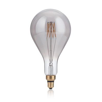 XXL žiarovka dymová, VINTAGE XL, E27, 8W, GOCCIA, 400lm, Teplá biela