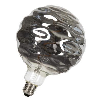 LED Žiarovka Big Joey Black, G150, E27, 3W, 2200K, 70lm, Stmievateľná   Bailey Lights