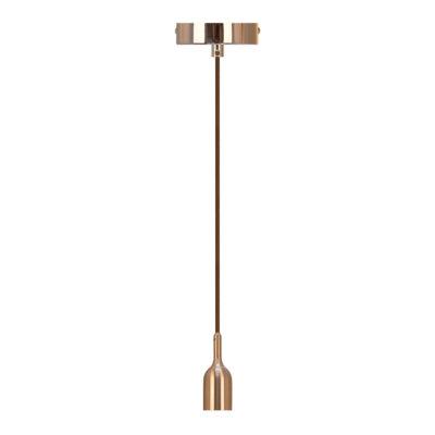 Moderné závesné svietidlo BELL v medenej farbe | Daylight Italia