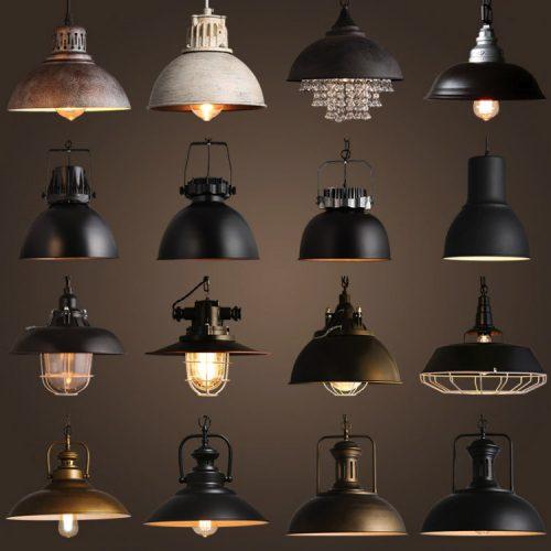 Vintage svietidlá a osvetlenie