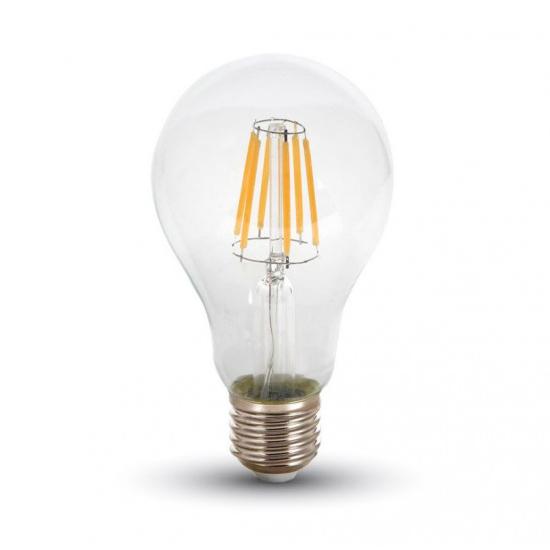 FILAMENT žiarovka - A67 WATERDROP - E27, 10W, 1055lm,
