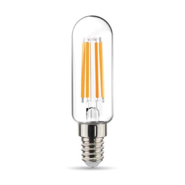 Rúrková LED Žiarovka - E14, 4.5W, 470lm, Teplá biela, Stmievateľná   Daylight Italia