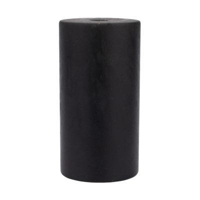 Handmade E27 objímka v čiernej farbe