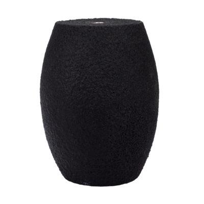 Handmade E27 objímka v tvare pilulky v čiernej farbe   Amarcords