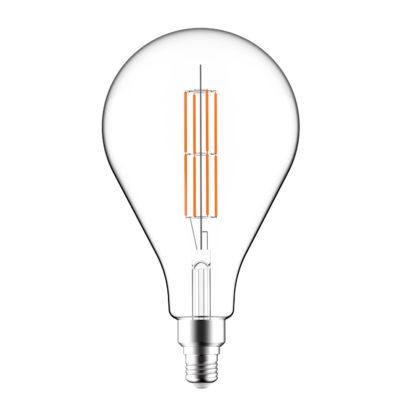 LED Žiarovka XXL A165 s čírym sklom – 11W, E27, Stmievateľná