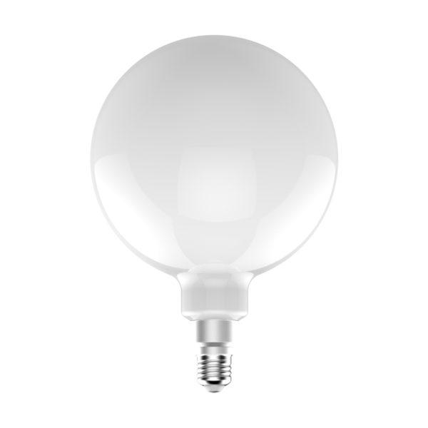 LED Žiarovka XXL G200 s mliečnym sklom – 12W, E27, Stmievateľná, 1521lm | Daylight Italia