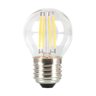 MINI FILAMENT žiarovka, E27, Teplá biela, 4W, 400lm, V-TAC