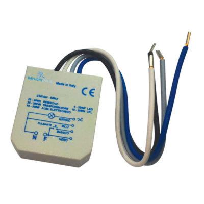 Profesionálny LED stmievač, tlačidlom ovládaný na nástennú inštaláciu