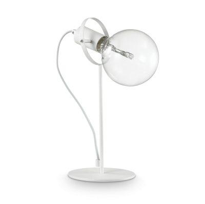 Moderná stolová lampa RADIO TL1 BIANCO | Ideal Lux