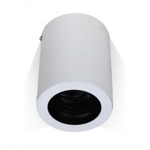 Povrchová montáž okrúhla biela s možnosťou orientácie pre bodové žiarovky GU10 : GU5.3,