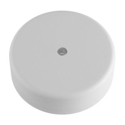 Exteriérová stropný držiak z mäkkého silikónu s krytím IP65 v bielej farbe