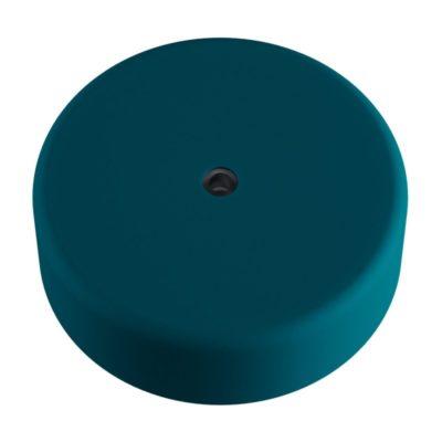 Exteriérová stropný držiak z mäkkého silikónu s krytím IP65 v tmavo tyrkysovej farbe