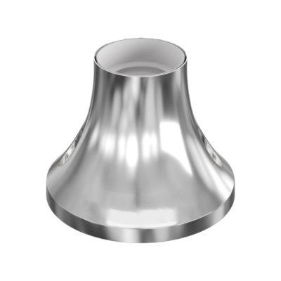 Stropná a nástenná objímka z kovu, E27, chrómová farba