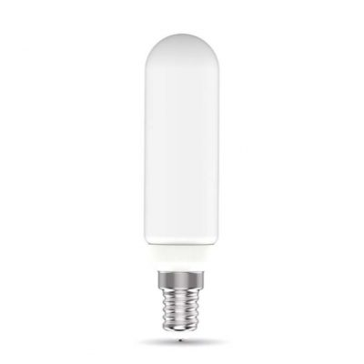 Rúrková LED Žiarovka mliečna - E14, 8.5W, 950lm, Teplá biela, Stmievateľná | Daylight Italia