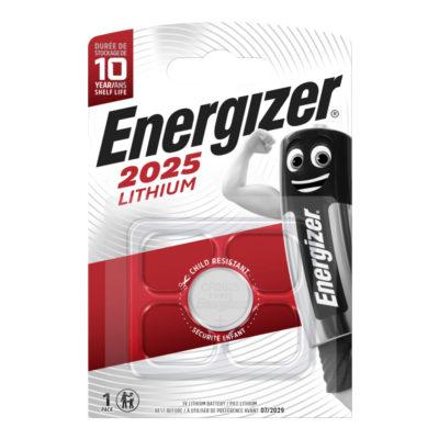 Energizer Lítiová gombíková batéria CR 2025