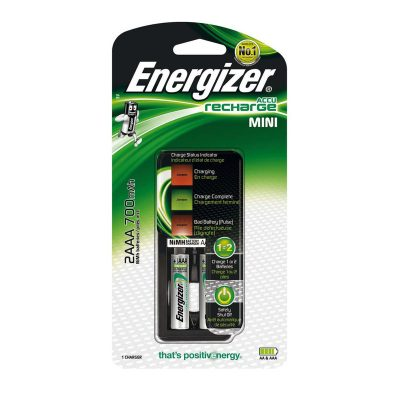 Energizer Nabíjačka Mini AAA + batérie 2x AAA Power Plus 700 mAh