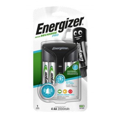 Energizer Nabíjačka Pro + batérie 4x AA Power Plus 2000mAh