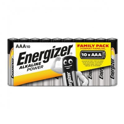 Energizer alkalické batérie Alkaline Power - Family Pack mikrotužkové AAA, 10ks balenie