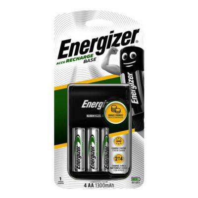 Energizer nabíjačka Base Universal + batérie 4 x AA 1300 mAh