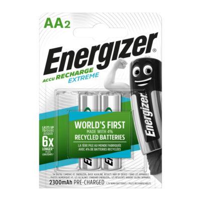 Energizer nabíjateľné batérie Extreme tužkové AA, HR6, FSB2, 2300 mAh