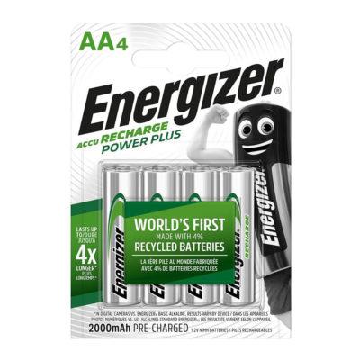 Energizer nabíjateľné batérie Extreme tužkové AA, HR6, FSB4, 2000 mAh