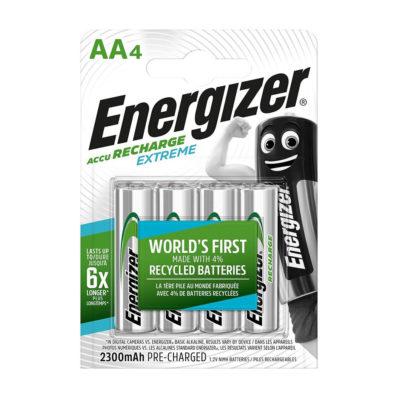 Energizer nabíjateľné batérie Extreme tužkové AA, HR6, FSB4, 2300 mAh