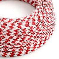 Textilné káble so vzorom