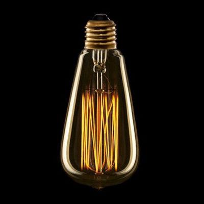 Žiarovka v retro štýle, DECOR EDISON ST64, E27, 40W, 200lm