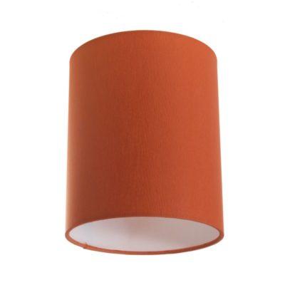 Tienidlo na lampu v oranžovej farbe s priemerom 15cm